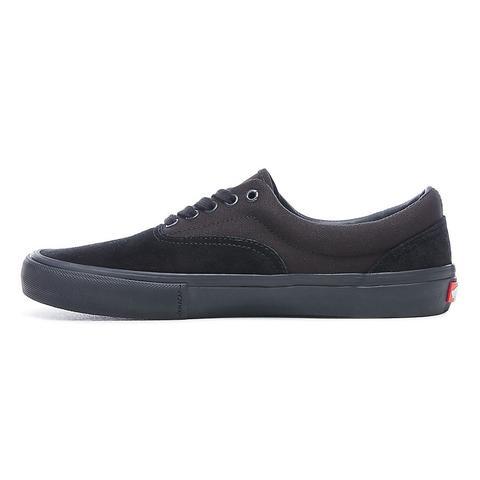 vans zapatillas hombres negra era