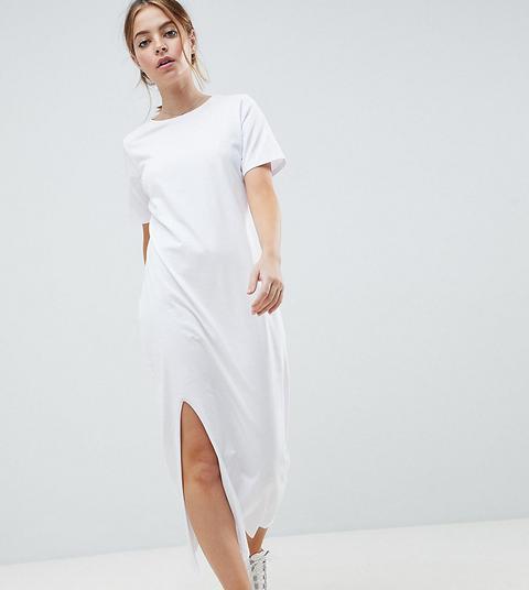 petite maxi t shirt dress