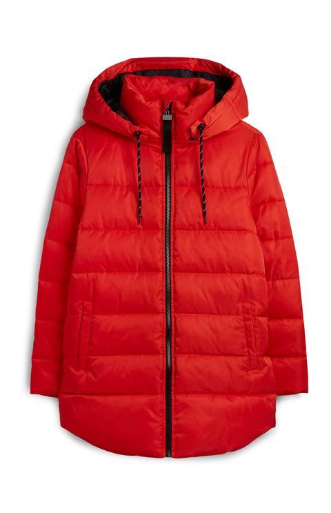 Abrigo Acolchado Rojo