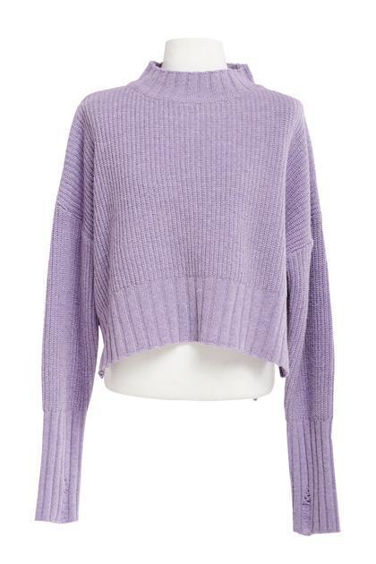 Aisha Cozy High Neck Sweater-2 Colors