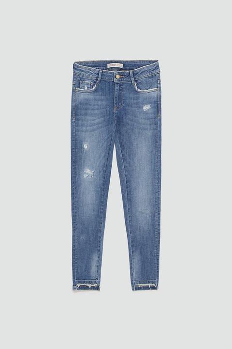 Jeans Z1975 Skinny Strappi