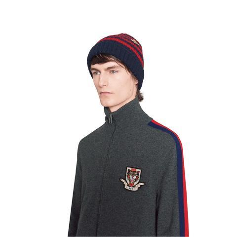 fashion design La migliore vendita del 2019 2019 autentico Cappello In Lana A Righe from Gucci on 21 Buttons