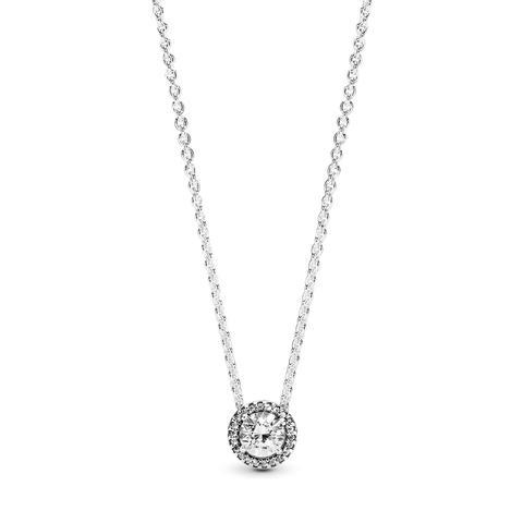 Collar En Plata De Ley Elegancia Clásica de Pandora en 21 Buttons