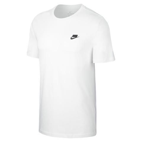tee shirt nike homme blanc