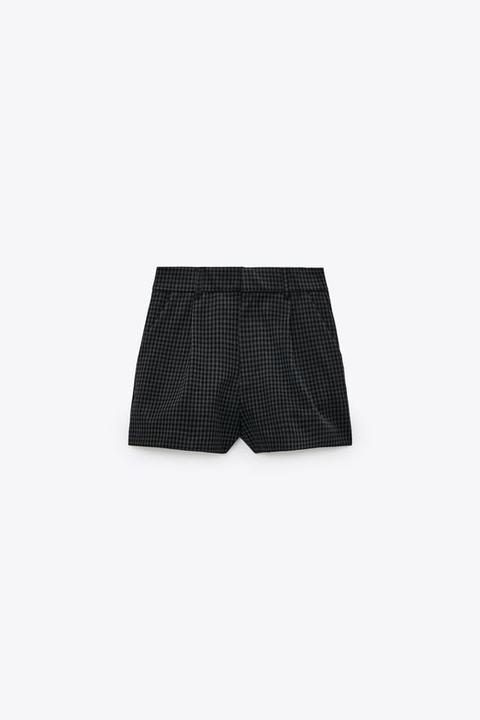 Shorts Pliegues