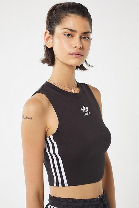 Disfrazado Derivar llegada  Adidas Originals Cropped Tank Top from Urban Outfitters on 21 Buttons