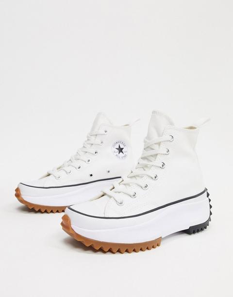 Zapatillas Blancas Tipo Montaña Run Star De Converse-blanco de ASOS en 21 Buttons