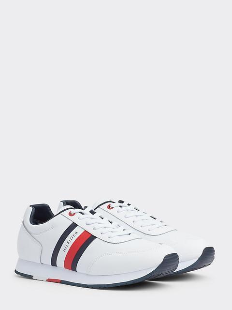 Zapatillas Deportivas De Piel Con Logo de Tommy Hilfiger en 21 Buttons