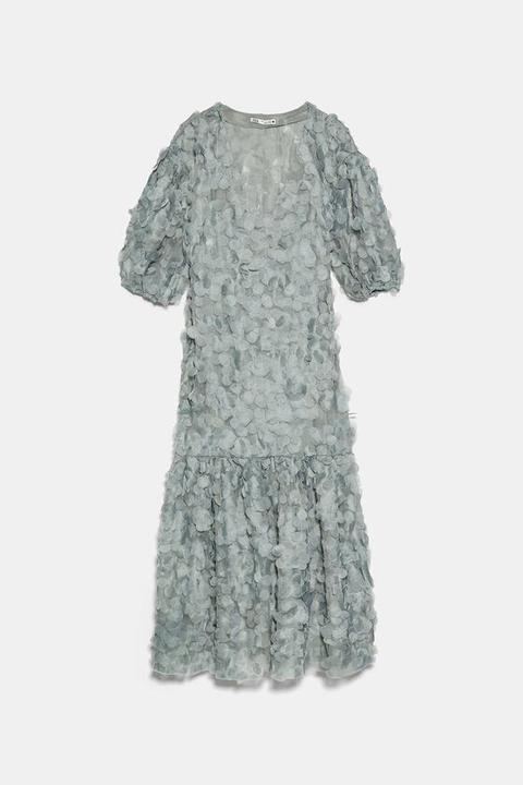 Vestido Estructura Edición Limitada de Zara en 21 Buttons