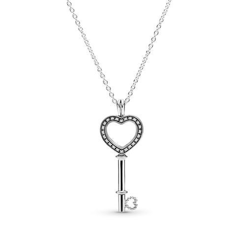 Colgante Locket En Plata De Ley Llave De Mi Corazón Pequeño de Pandora en 21 Buttons