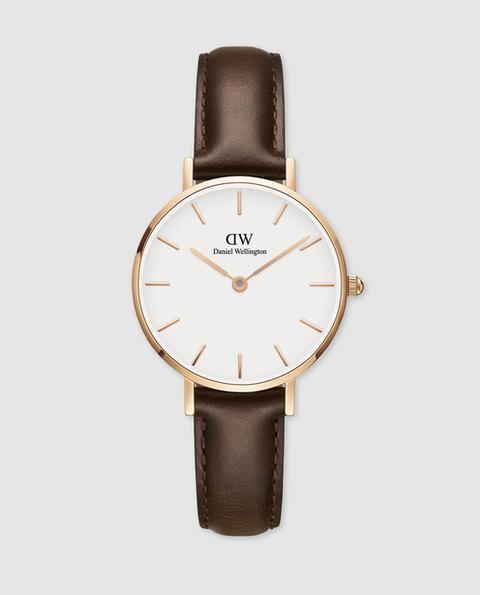 Daniel Wellington - Reloj De Mujer Daniel Wellinton Bristol Dw00100227 De Piel Marrón de El Corte Ingles en 21 Buttons