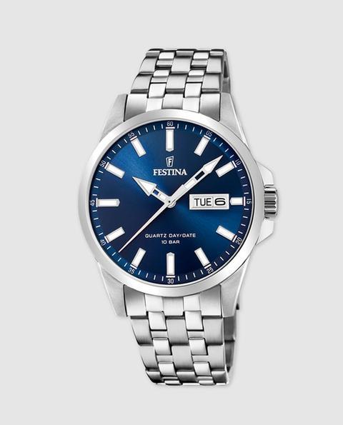 Festina - Reloj De Hombre Classics F20357 De Acero de El Corte Ingles en 21 Buttons
