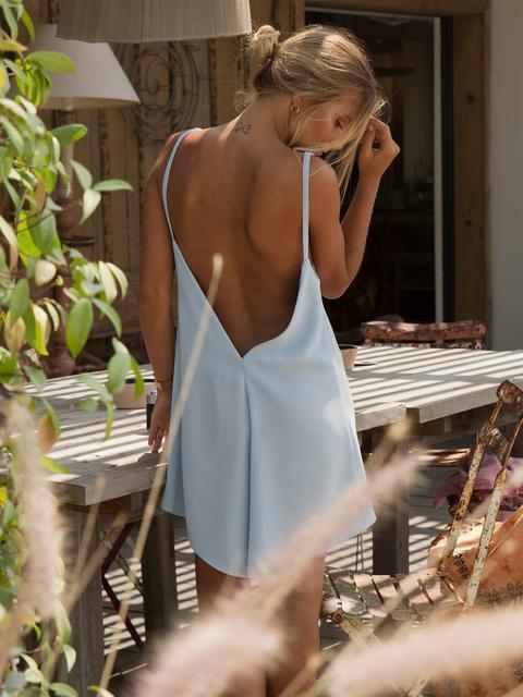 Mini Vestido Azul de KAOA en 21 Buttons