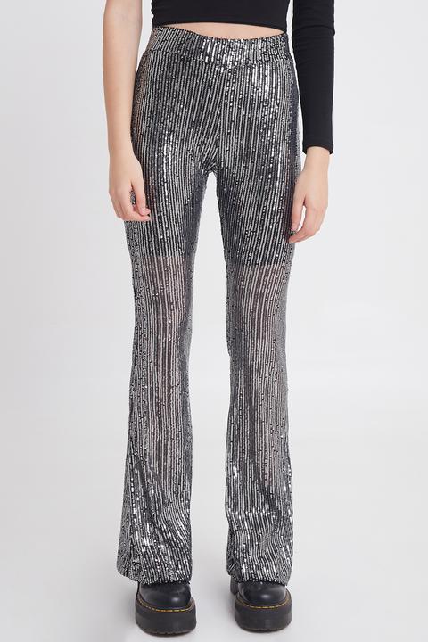 Pantalones Campana Lentejuelas de SUBDUED en 21 Buttons