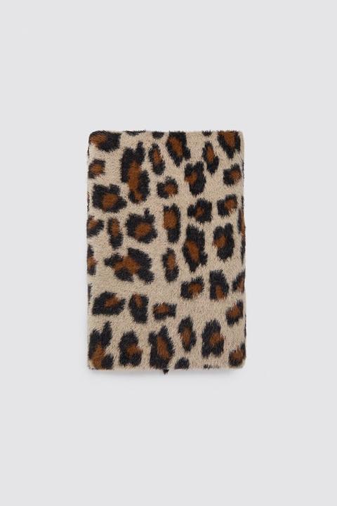 Bufanda Soft Estampado Animal