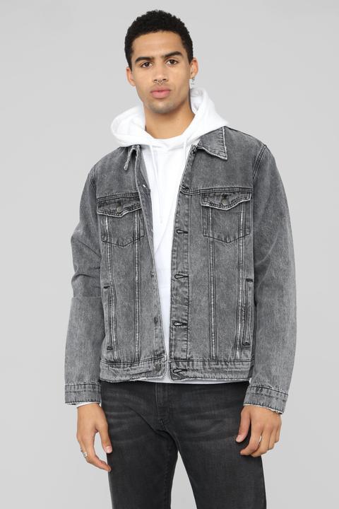 84c9d439f Good In The City Denim Jacket - Medium Blue Wash from Fashion Nova ...