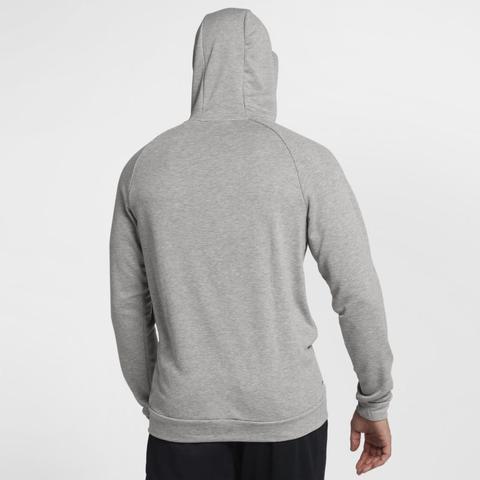 Hazlo pesado A rayas Guarda la ropa  Nike Dri-fit Sudadera Con Capucha De Entrenamiento - Hombre - Gris from Nike  on 21 Buttons