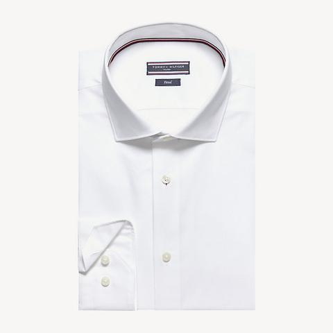 Camisa De Popelín Entallada de Tommy Hilfiger en 21 Buttons