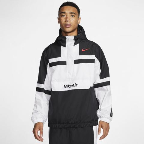Nike Air Chaqueta De Tejido Woven - Hombre - Blanco de Nike en 21 Buttons