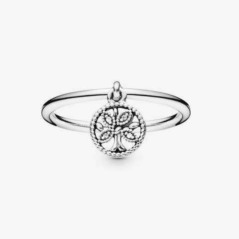 anello pandora con pendente