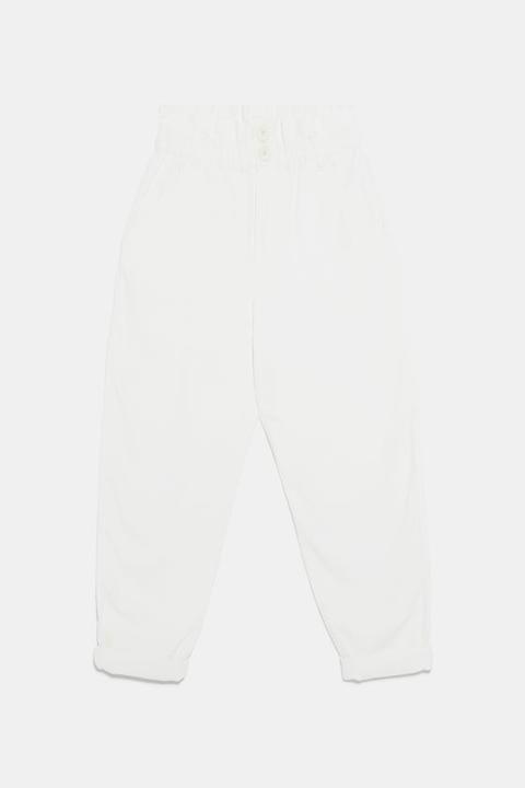Pantalón Paper Bag