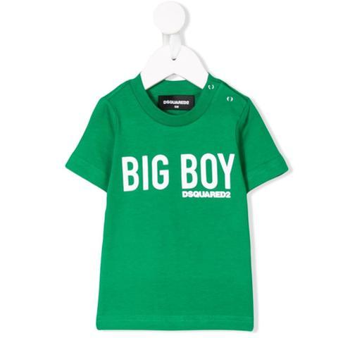 Dsquared2 Kids Camiseta Con Logo Estampado - Verde de Farfetch en 21 Buttons