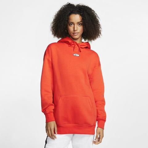 Nike Sportswear Swoosh Sudadera Con Capucha - Mujer - Naranja from Nike on 21 Buttons