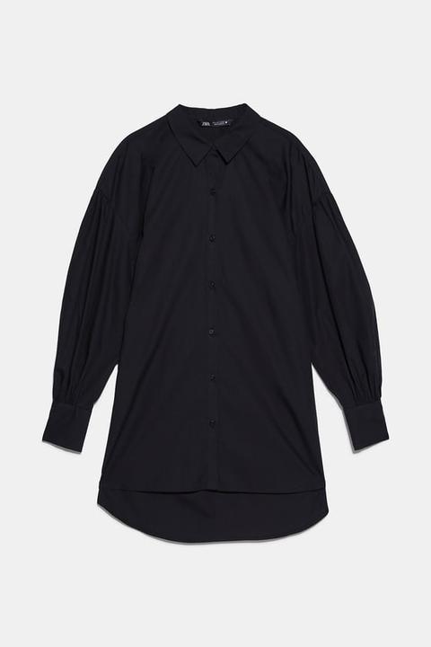 Camisa Popelín Volumen