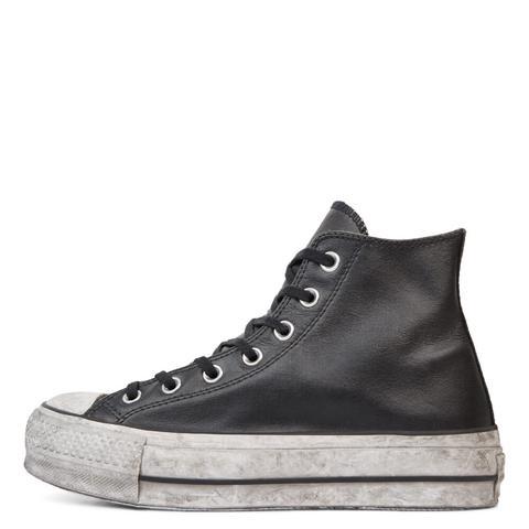 converse leather smoke