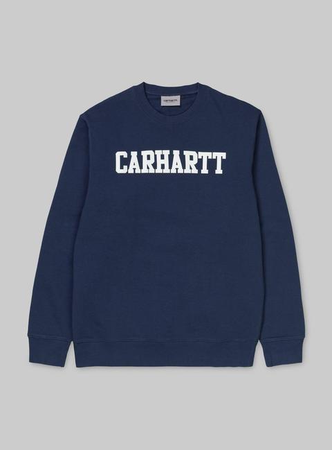 College Sweatshirt de Carhartt WIP en 21 Buttons