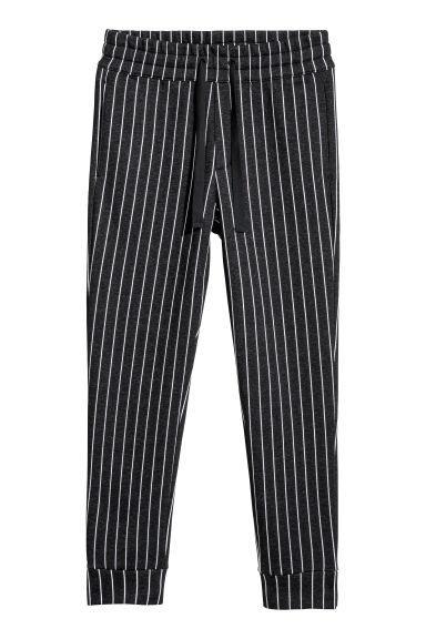 Pantaloni In Felpa A Righe