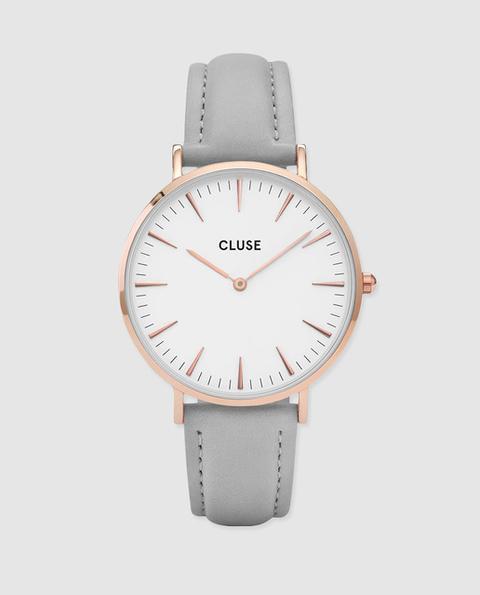 Cluse - Reloj De Mujer Cl18015 De Piel de El Corte Ingles en 21 Buttons