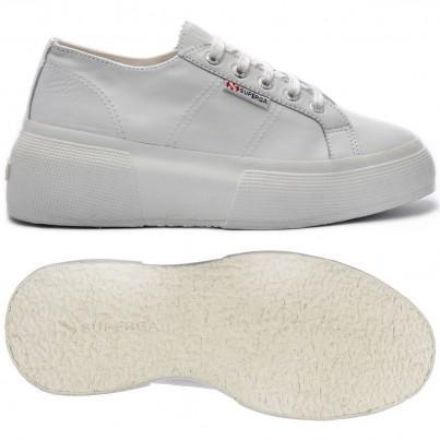 2287-leanappaw, 17130, Lady Shoes S00dq70 900 White de Superga en 21 Buttons