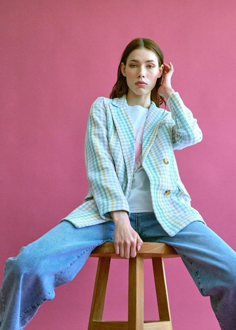Blazer Tweed Multicolor
