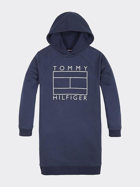 Vestido Sudadera Essential Con Capucha de Tommy Hilfiger en 21 Buttons