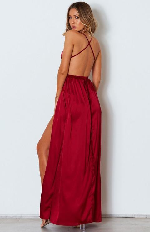 Akela Maxi Dress Wine
