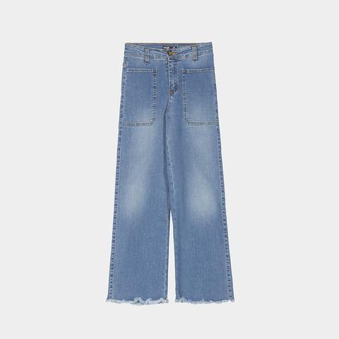 Jeans Culotte Tejano