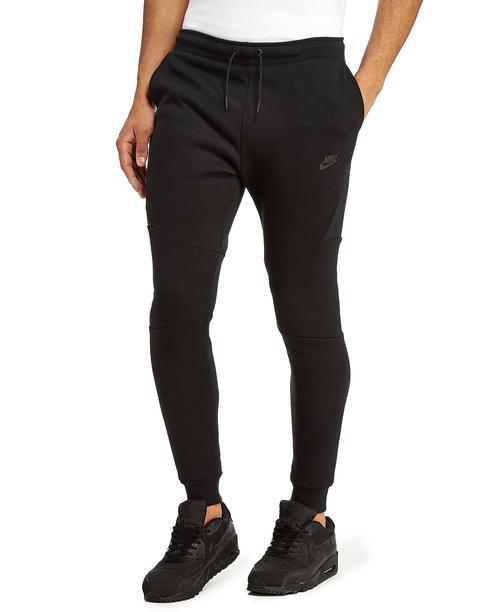 Nike Pantalón Tech Fleece, Negro de Jd Sports en 21 Buttons