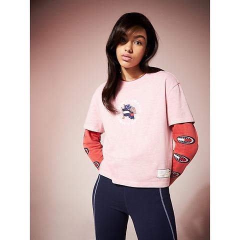 Tommy Hilfiger T Shirt Damen Pink | Lixnet AG