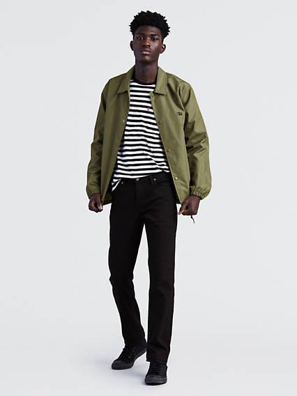 511™ Slim Fit Jeans Negro / Nightshine de Levi's en 21 Buttons