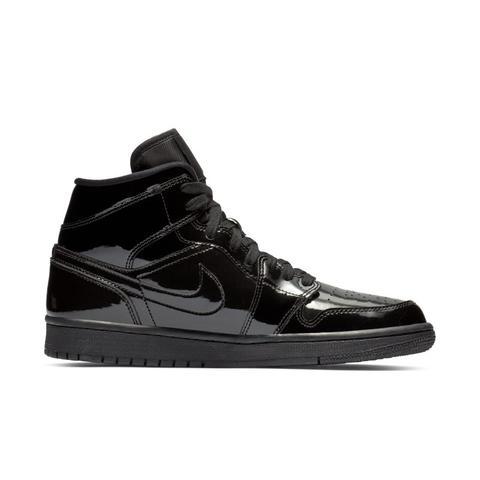 livraison gratuite bdb31 3a6a0 Chaussure Air Jordan 1 Mid Pour Femme - Noir from Nike on 21 Buttons