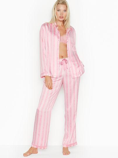 New! The Satin Pj de Victoria Secret en 21 Buttons