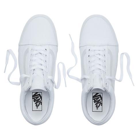 Vans Zapatillas Old Skool (true White) Mujer Blanco