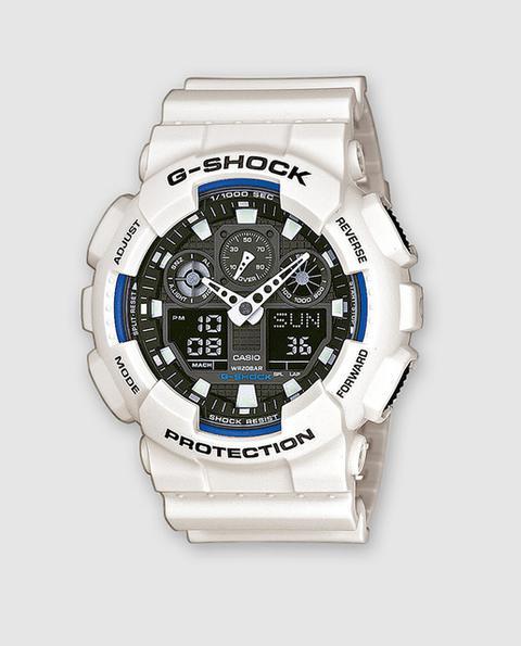 Casio - Reloj De Hombre G-shock Ga-100b-7aer Luz Led Automática Antimagnético de El Corte Ingles en 21 Buttons