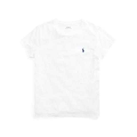 Camiseta De Cuello Redondo De Algodón de Ralph Lauren en 21 Buttons