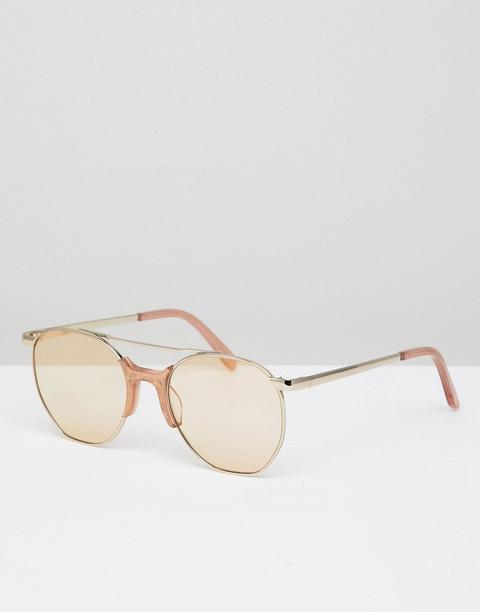 Gafas De Sol De Aviador En Dorado Raine De Vow London de ASOS en 21 Buttons