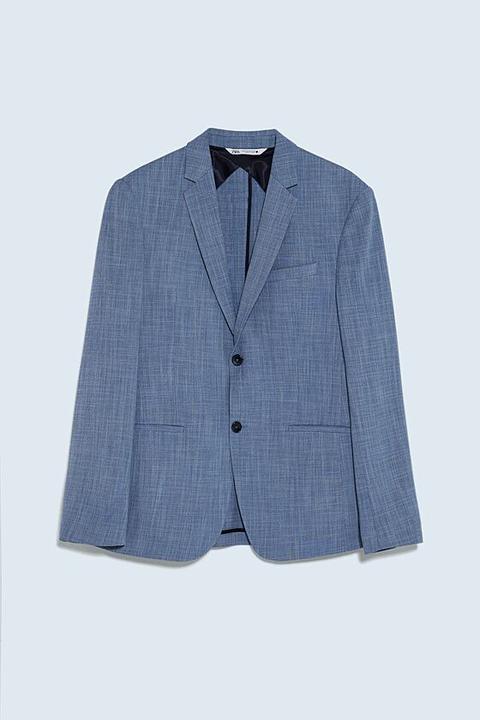 Blazer Conjunto Estructura Comfort de Zara en 21 Buttons