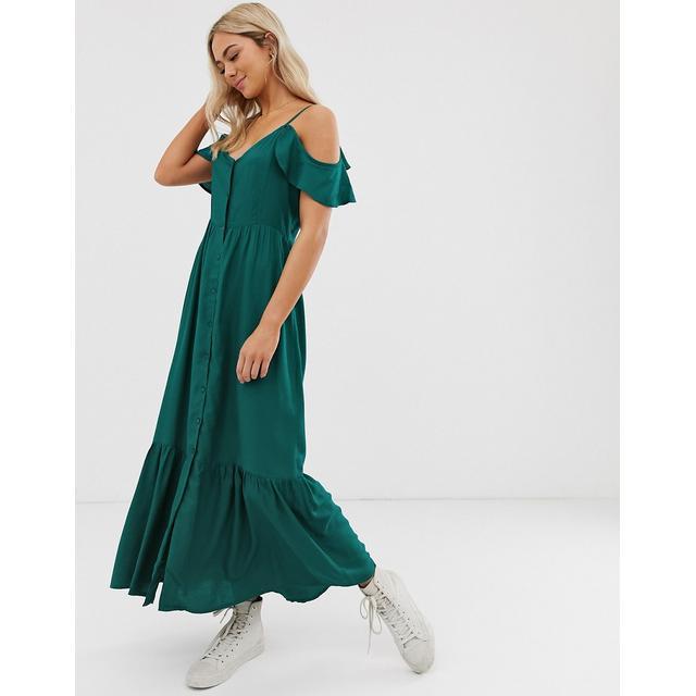 magasin en ligne 06e6f 7501e Pimkie - Robe Longue - Vert - Vert from ASOS on 21 Buttons