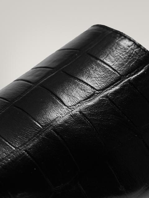 Mule Animal Print Negro de Massimo  Dutti en 21 Buttons