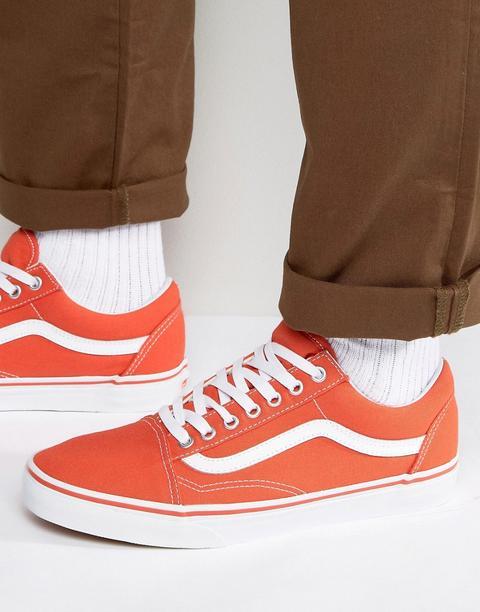 vans scarpe arancioni